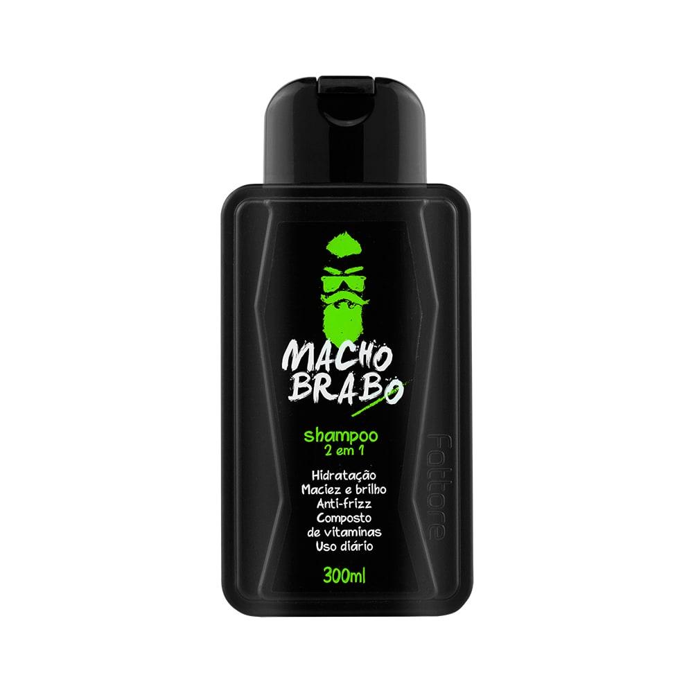 Fattore Shampoo 2 em 1 Macho Brabo 300ml