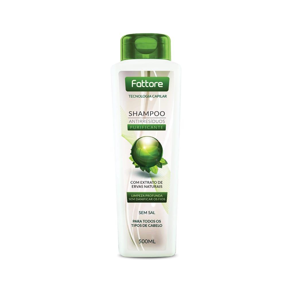 Fattore Shampoo Anti-Resíduos Purificante 500ml