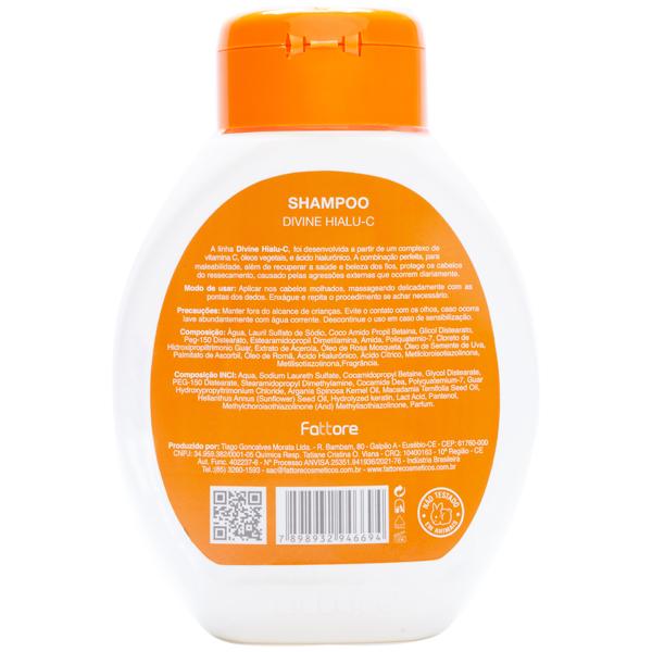 Fattore Shampoo Divine Hialu-C 300ML