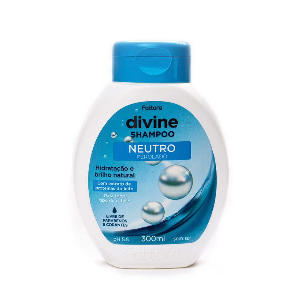 Fattore Shampoo Divine Neutro Perolado 300ml