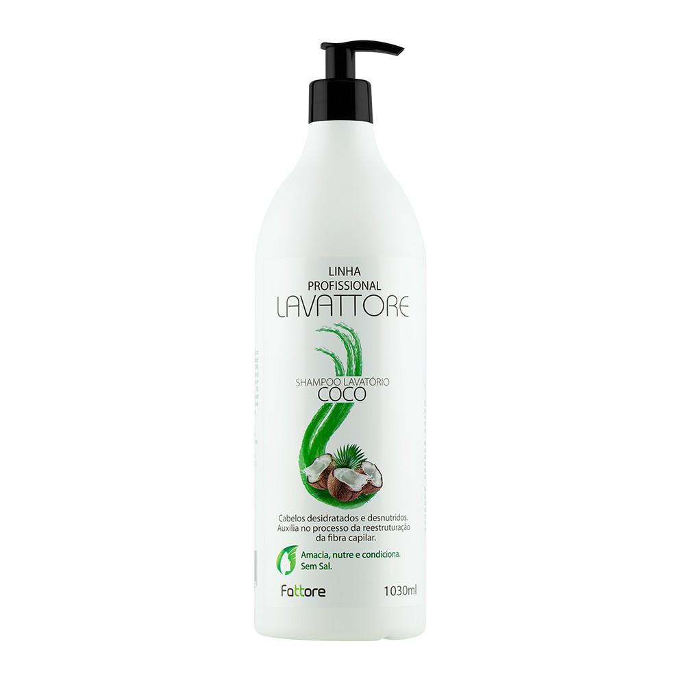 Fattore Shampoo Linha Profissional Lavattore Coco 1,030L