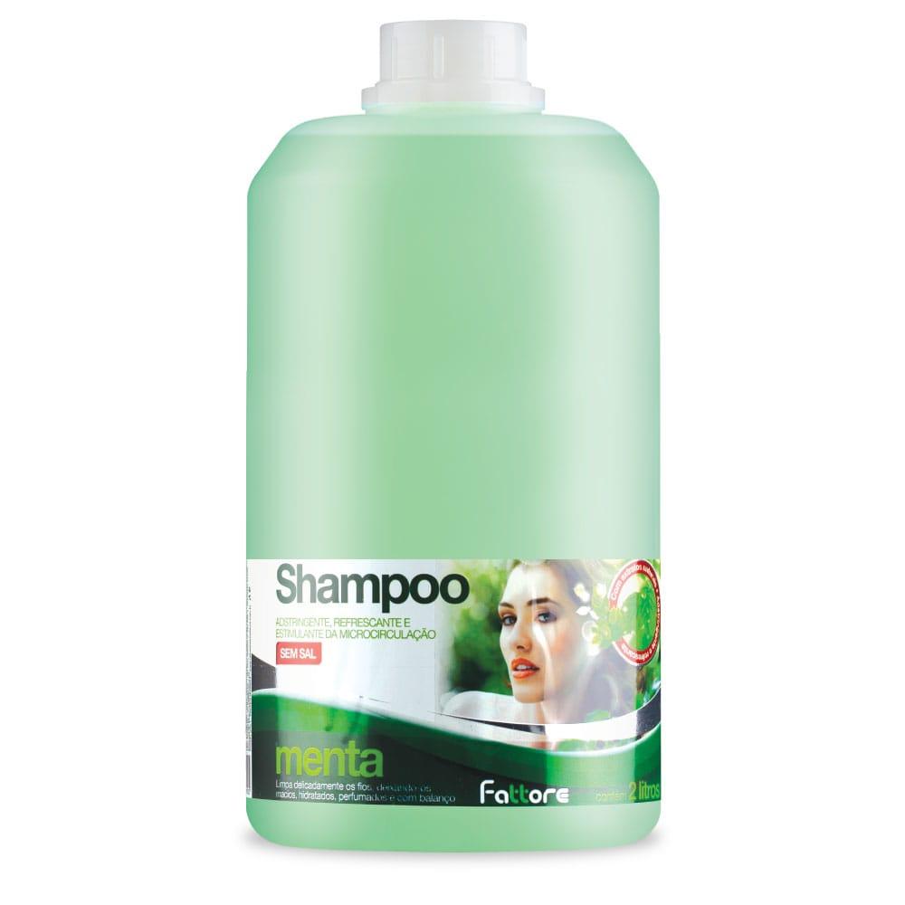 Fattore Shampoo Menta 2L