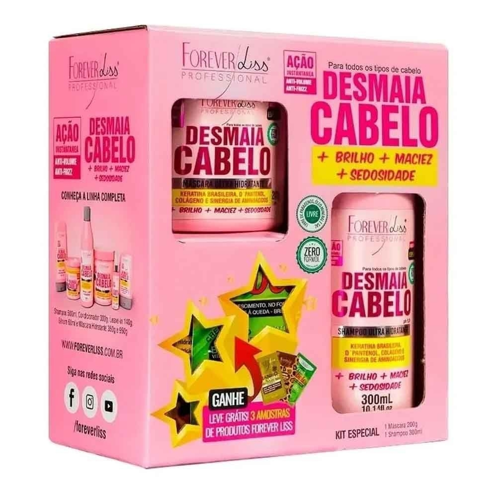 Forever Liss Kit Desmaia Cabelo