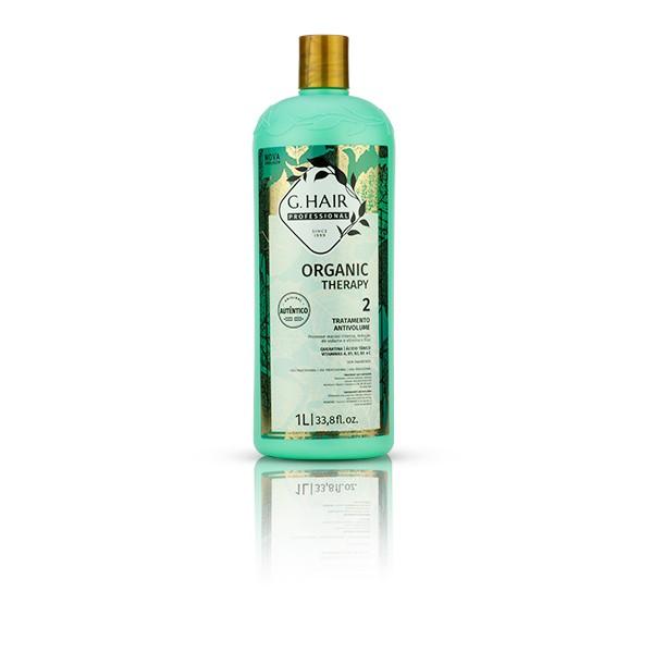 G.hair Kit Tratamento Organic Therapy Shampoo + Tratamento 1L