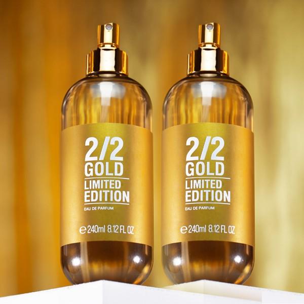 Kit 2 Perfumes 2/2 240ml Gold + Brinde Especial