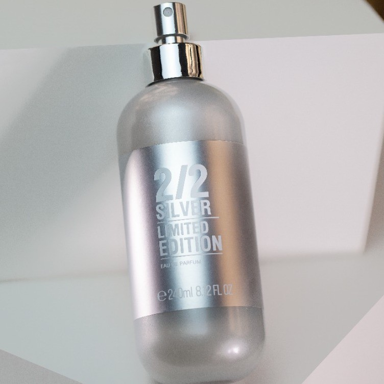Kit 3 Perfumes 2/2 240ml Silver + Brinde Especial