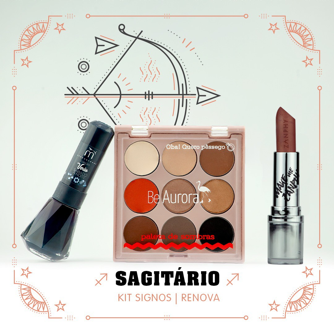Kit Signos do Zodiaco Sagitário Renova