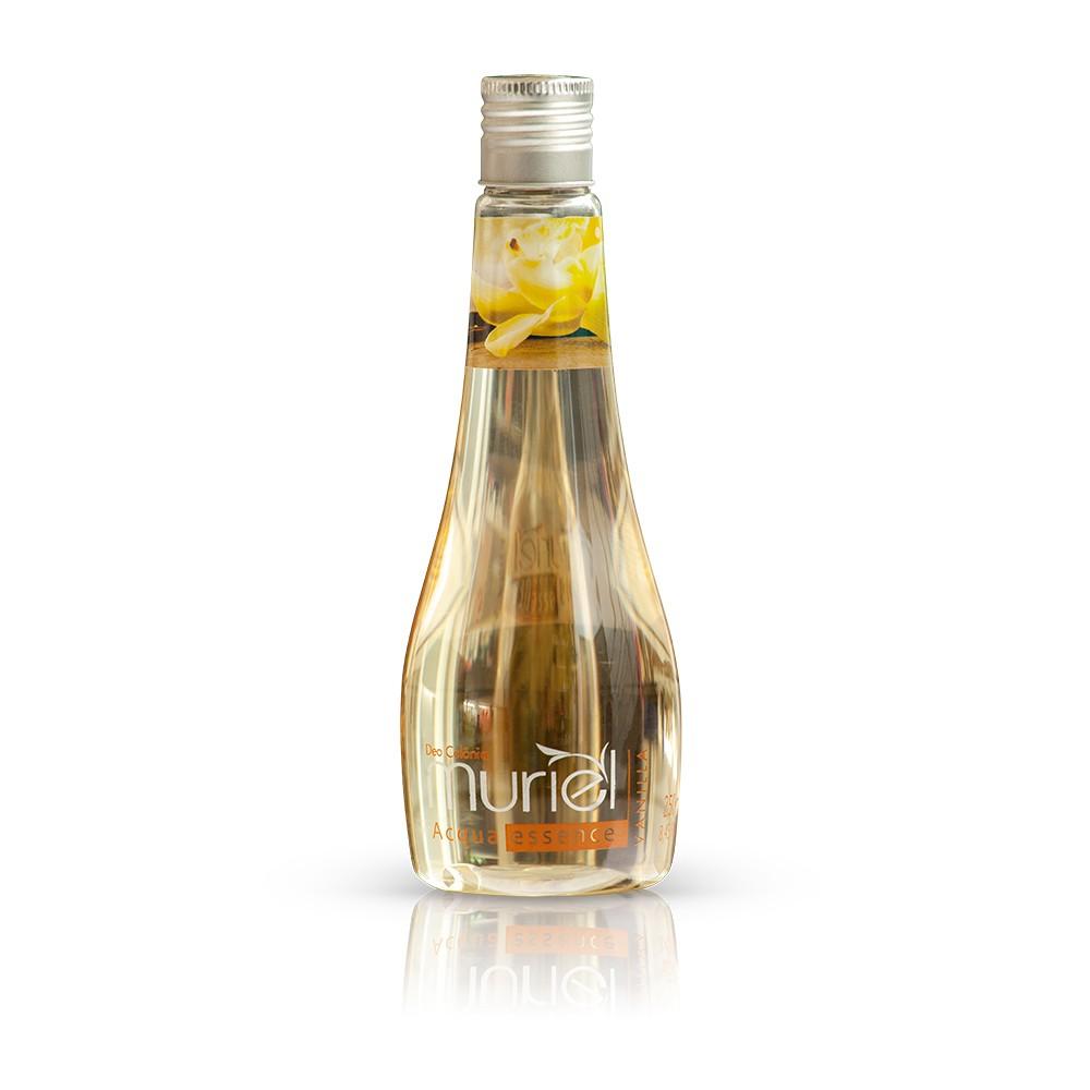 Água de Banho Muriel Acqua Essence Vanilla ação desodorante 250ml