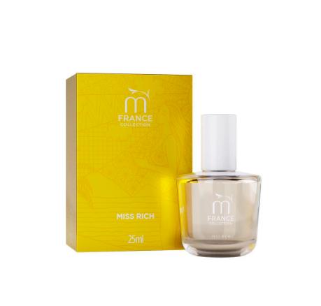 Muriel Perfume Deo Colônia Feminina Coleção Toul Miss Rich 25ml