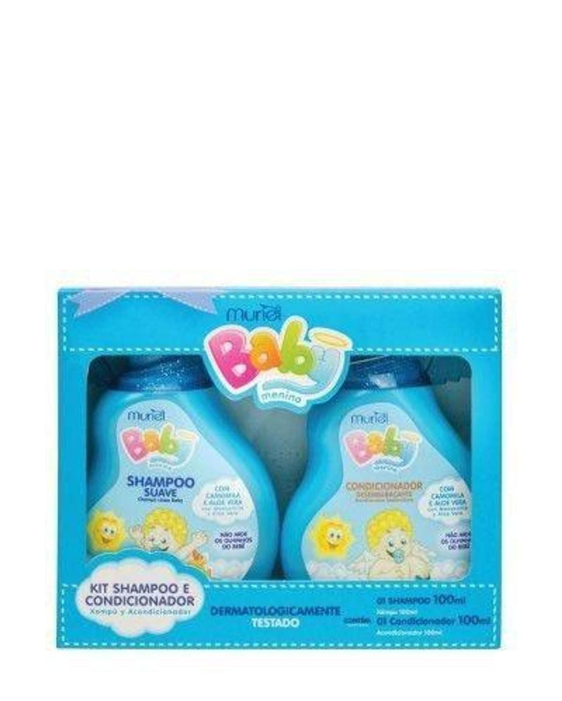 Muriel Kit Baby Menino Shampoo e Condicionador 100ml