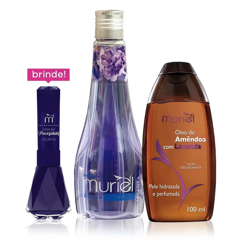 Muriel Kit Especial Banho Lavanda