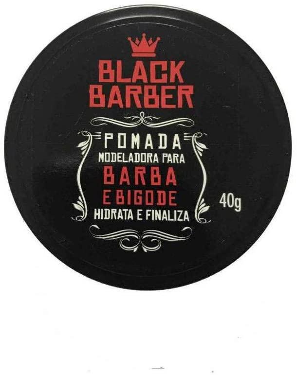 Muriel Pomada Barba e Bigode Black Barber 40g
