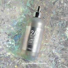 Perfume Feminino 212 Silver 240ml