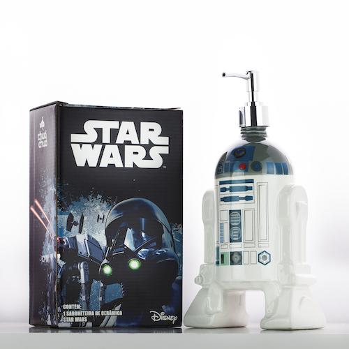 Star Wars Saboneteira R2-D2 500ml