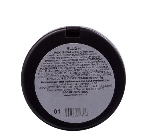 Zanphy Blush Special Line HD Cor 01 6g