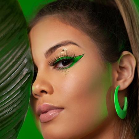 Zanphy Delineador em Gel Linha Vibe Neon Verde 185g