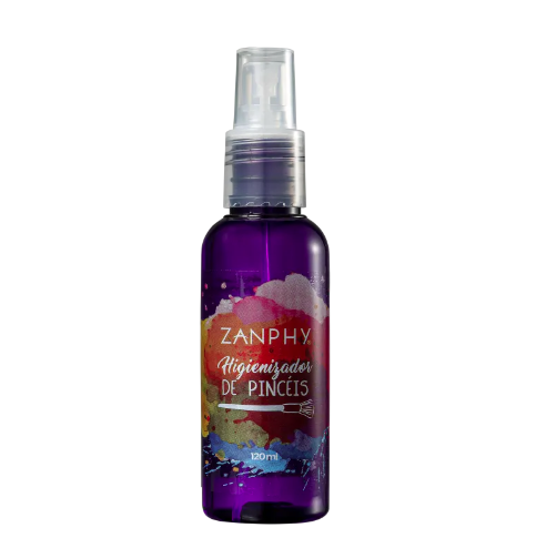 Zanphy Higienizador Limpador de Pinceis 120ml