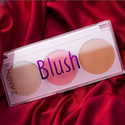Zanphy Paleta de Blush Linha Pele