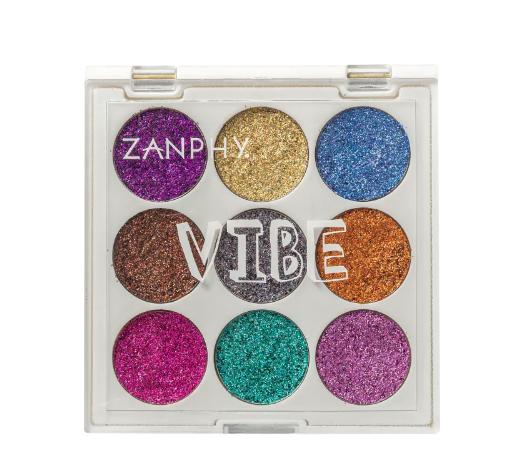 Zanphy Paleta de Glitter Holográfico Linha Vibe