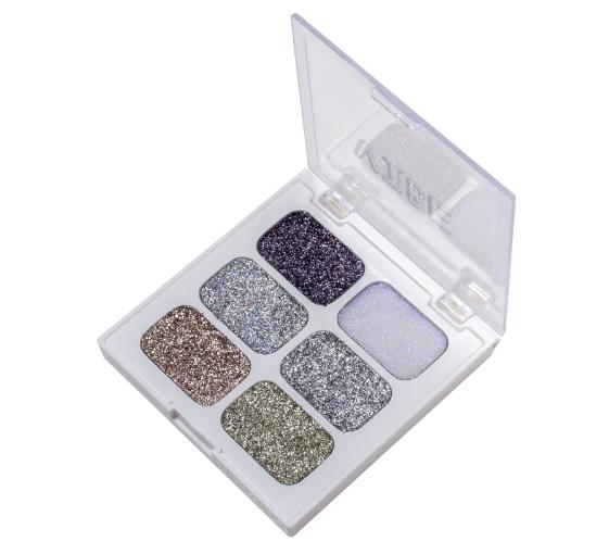 Zanphy Paleta de Glitter Linha Vibe Nº 01