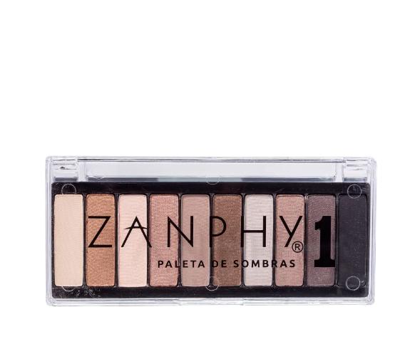 Zanphy Paleta de Sombras 10 Cores Nº01