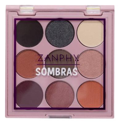Zanphy Paleta de Sombras Noneto 9 Cores Nº03