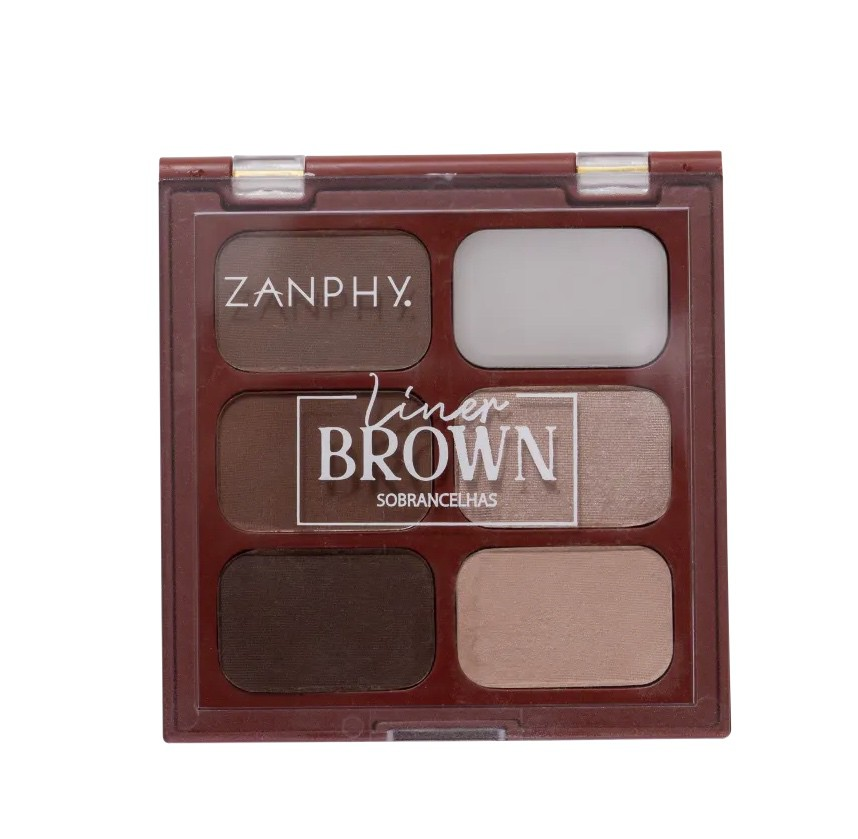 Zanphy Paleta para Sobrancelhas Liner Brown Nº02