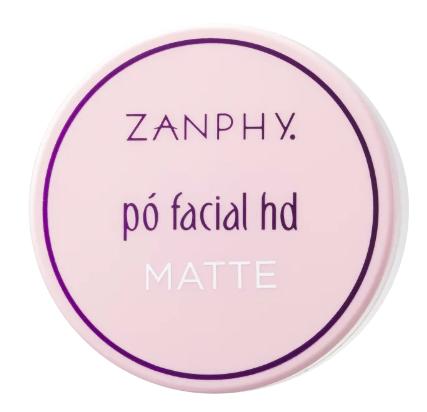 Zanphy Pó Facial HD Matte Linha Pele Claro 15g