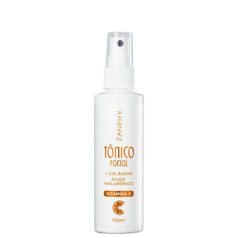 Zanphy Tônico Facial Vitamina C + Colágeno Acido Hialurônico 100ml