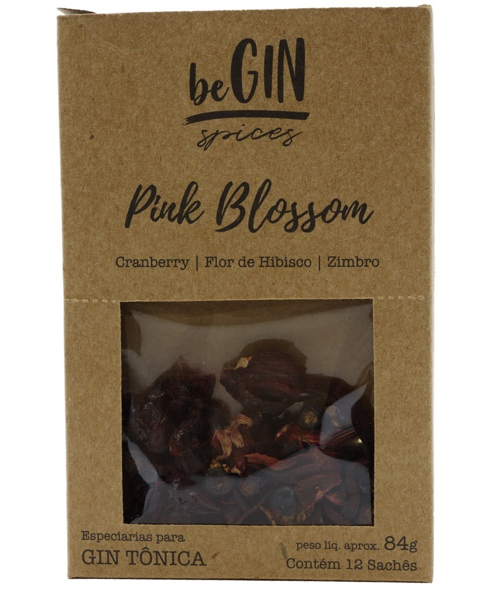 BE GIN PINK BLOSSOM 12X84G SACHE