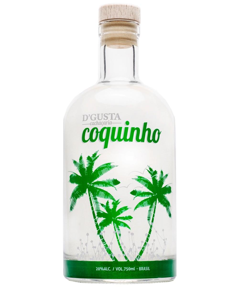 CACHAÇA D'GUSTA COQUINHO 750ML