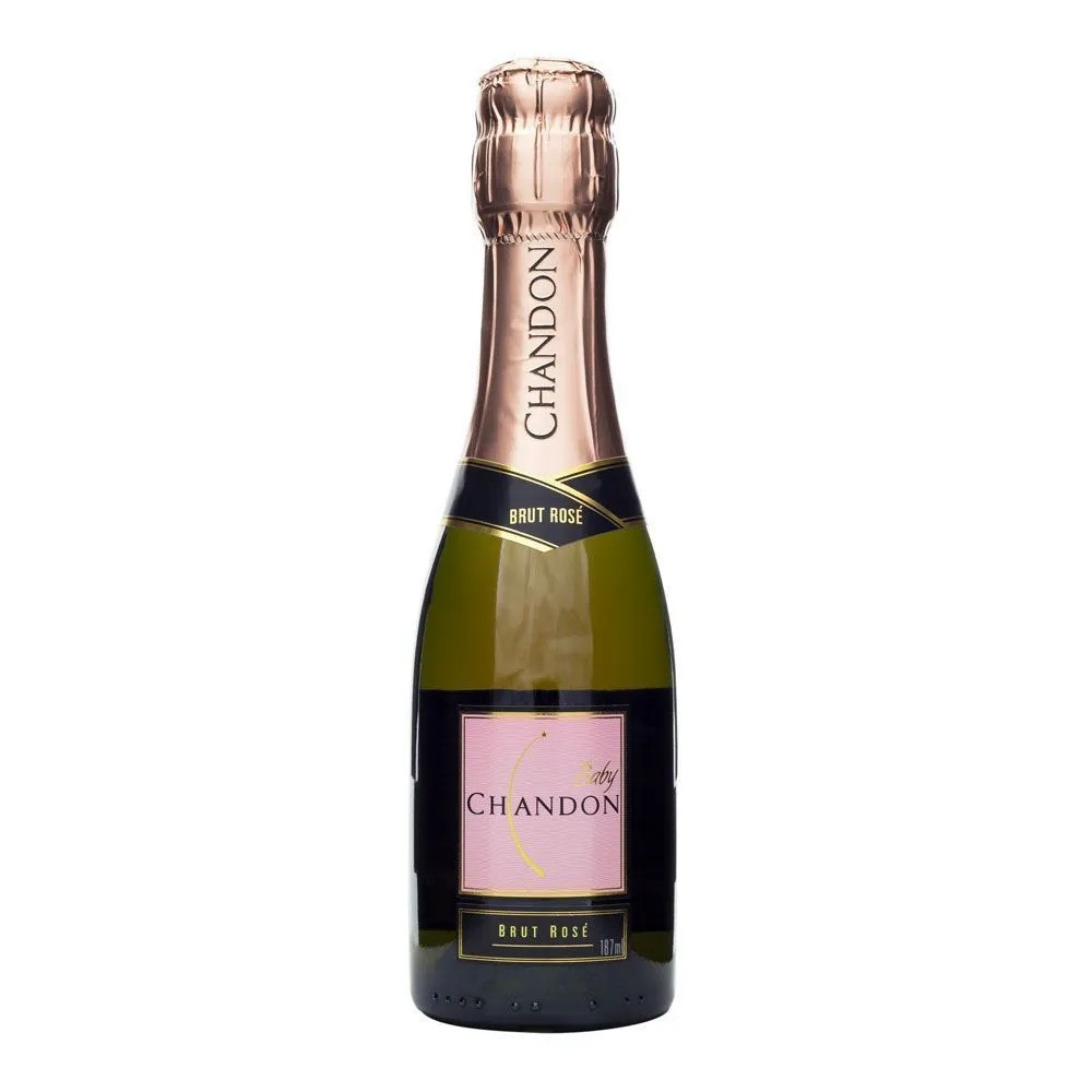 ESPUMANTE BABY CHANDON BRUT ROSE 187ML