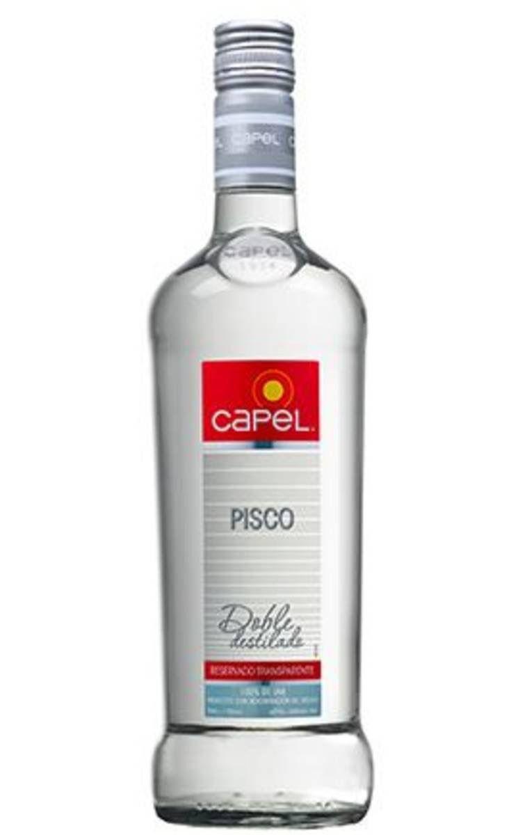 PISCO CHILENO CAPEL RESERVADO 750ML