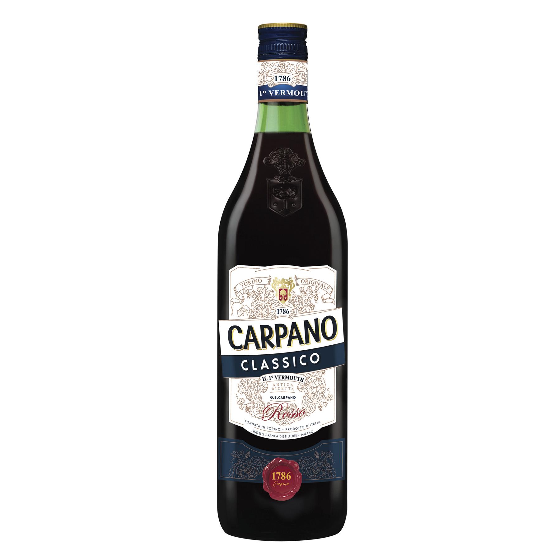 VERMOUTH ITALIANO CARPANO CLASSICO 1000ML