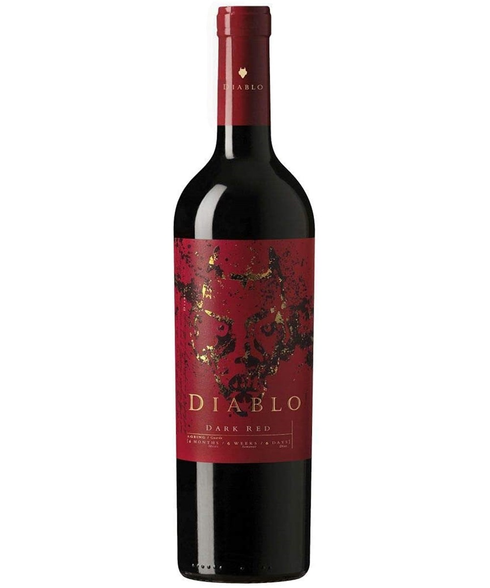 VINHO CASILLERO DEL DIABLO DARK RED 750ML