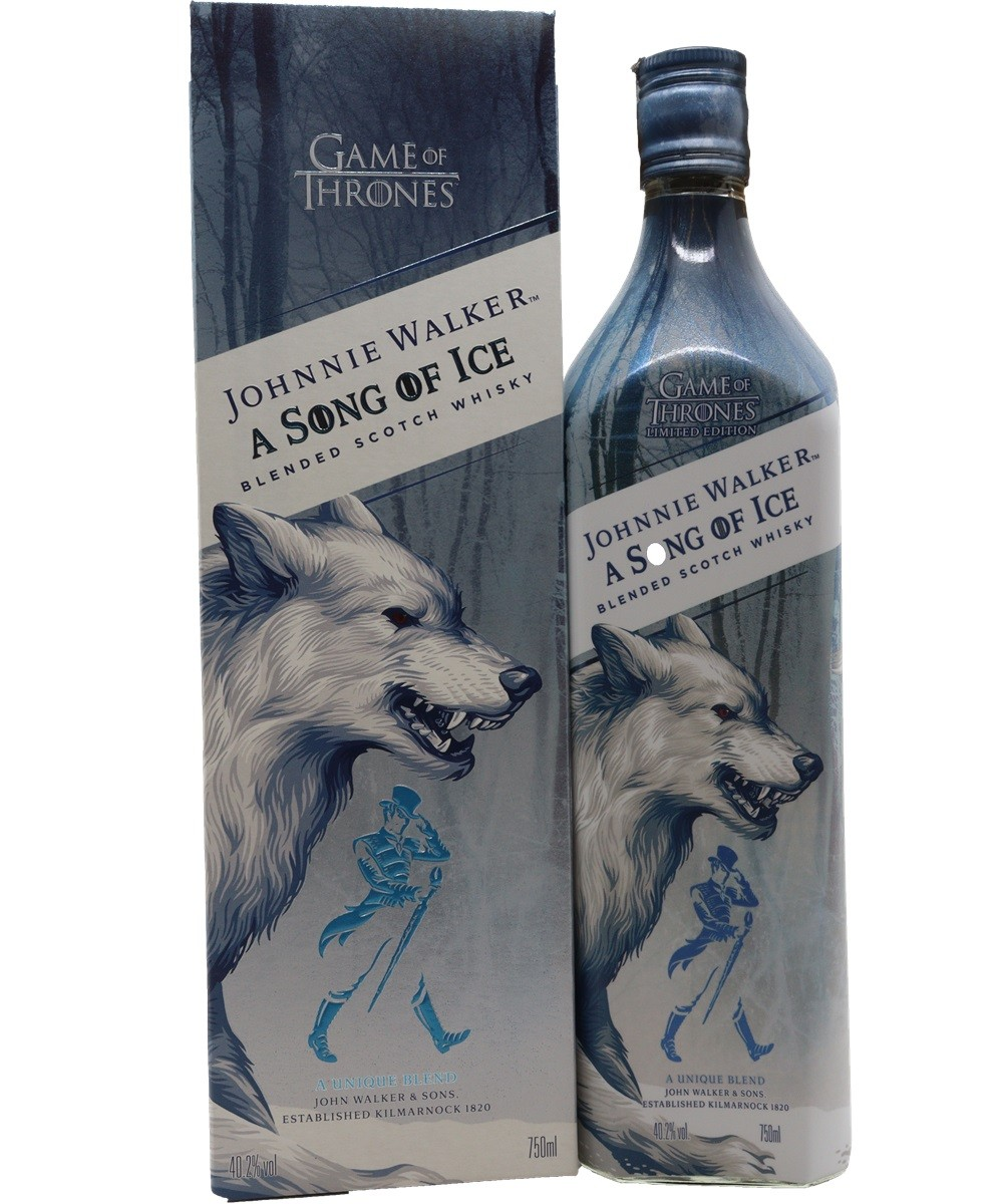 WHISKY JOHNNIE WALKER A SONG OF ICE 750ML