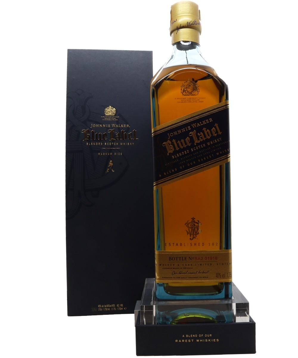 WHISKY JOHNNIE WALKER BLUE LABEL 1750ML