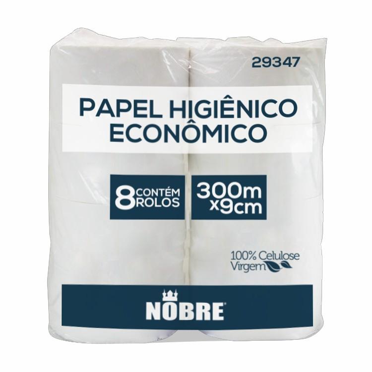 03 Papel Higiênico Rolão Super  Luxo Nobre 100% Celulose