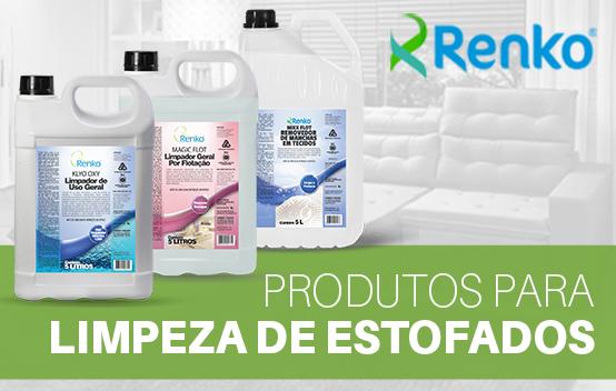 produtos limpeza de estofados