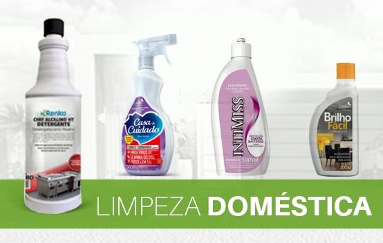 produtos limpeza doméstica