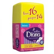 Absorvente Diana com Aba com 16 Unidades