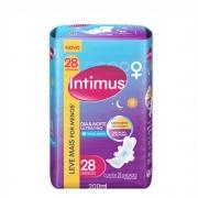 Absorvente Intimus Dia e Noite Ultrafino com 28 Unidades