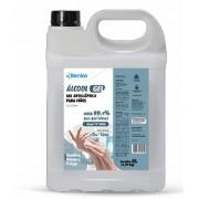 Álcool em Gel 70º Antisséptico de 5 litros Marca Renko