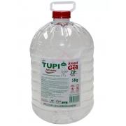 Álcool em Gel 70º Antisséptico de 5 litros Marca Tupi