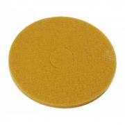 Disco Polidor Bege - Amarelo para Enceradeira 300mm