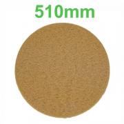 Disco Polidor Bege - Amarelo para Enceradeira 510mm