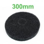 Disco Removedor Preto para Enceradeira 300mm