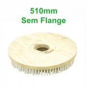 Escova de Nylon Sem Flange para Enceradeira Bralimpia 510mm