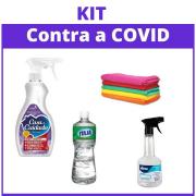 Kit Básico - Desinfecção Contra a COVID