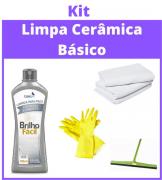 Kit Limpa Cerâmica - Básico